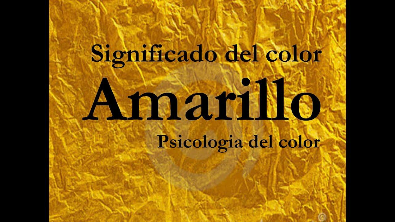 Significado del color amarillo psicolog a del color - Cual es el color ocre ...