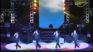 2003年11月15日泉の森ホール(キュートナーTV) オープニングの4人の...