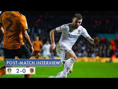 Post-match interview   Stuart Dallas   Leeds United 2-0 Hull City