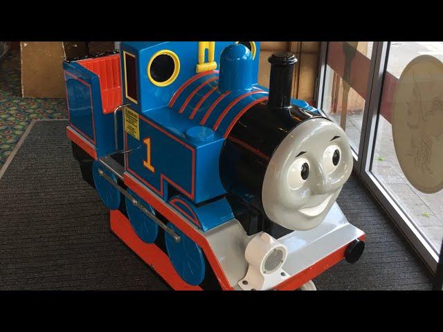 R.G. Mitchell Mini Thomas The Tank Engine Kiddie Ride (Jolly Roger Refurbishment) (Ft. Elias)
