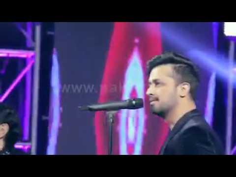 Dil Kare Atif Aslam In Ho Maan Jahan Success NighT show