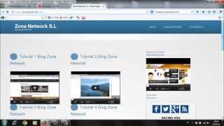 Zona Network Plataforma Webapp Tutorial 3 Insertar Banner de Publicidad Republica Dominicana