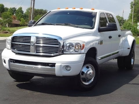 2008 Dodge Ram 3500 Laramie Mega Cab Dually Sold Youtube