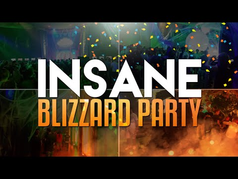 Insane Blizzard Party (Gamescom Vlog)