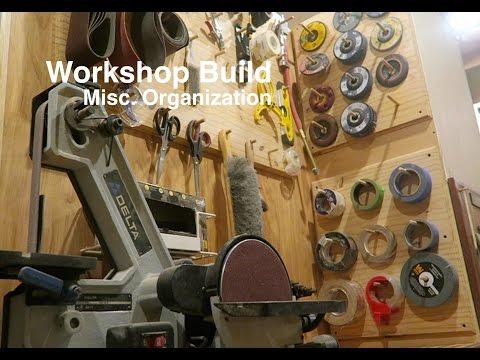 Workshop Build #1 - Tape and Sanding Disk Storage