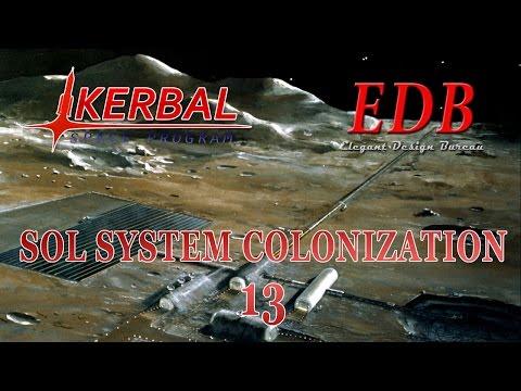 Sol System Colonization in KSP/RO - 13 (2016-01-17)