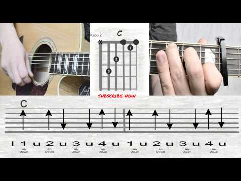 Andreas Bourani - Auf uns - Akkorde I Tutorial I How to play I Chords
