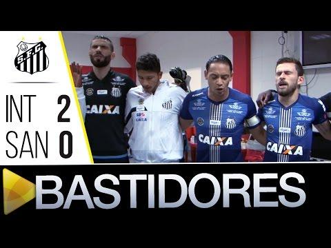 Internacional 2 x 0 Santos | BASTIDORES | Copa do Brasil  (19/10/16)