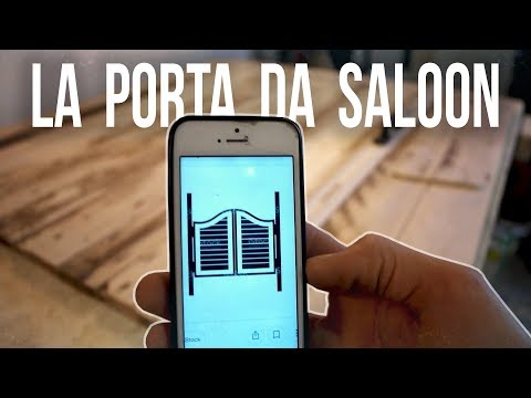 Come fare una porta da SALOON riciclando bancali - DIY | Knob House Project
