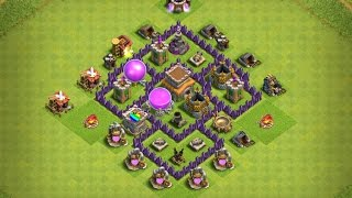 Th5 Farming Base|Anti Giants|Anti Healers|Anti Barch|Anti Wizards|2016 October