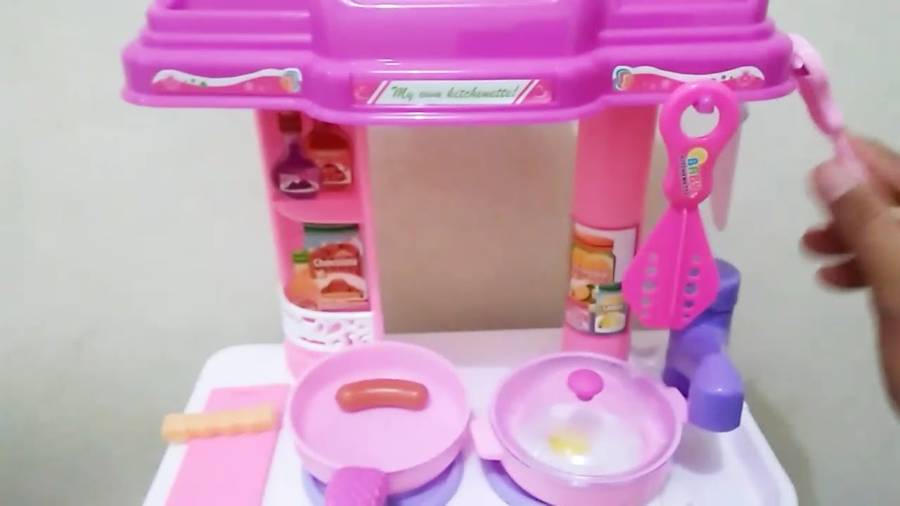 Kitchen set toy play for kid 3 years old baby kitchen set 😍