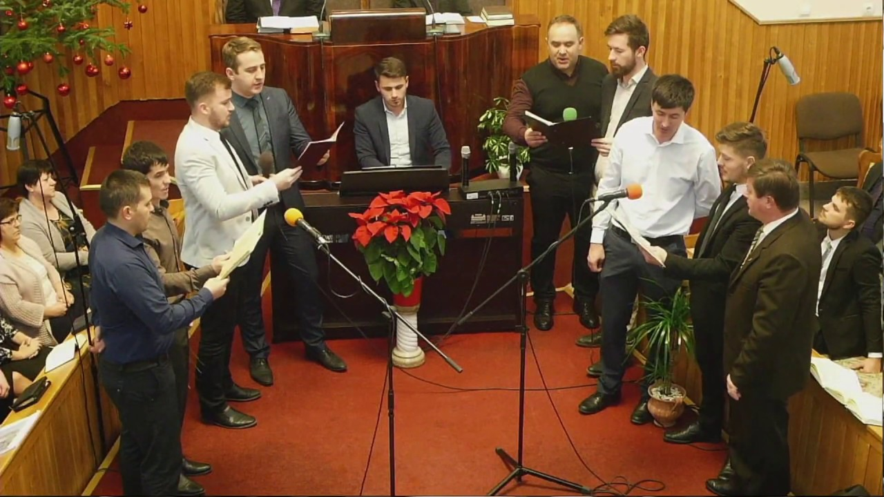 2018.12.30. Férfikórus szolgálata - Egy szép városról olvastam egykor én...  A gyülekezet facebook oldala: https://www.facebook.com/krasznaibaptista/ A gyülekezet weboldala: http://www.kramaba.ro/