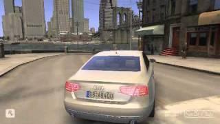 2010 Audi A8  Gta IV car mod