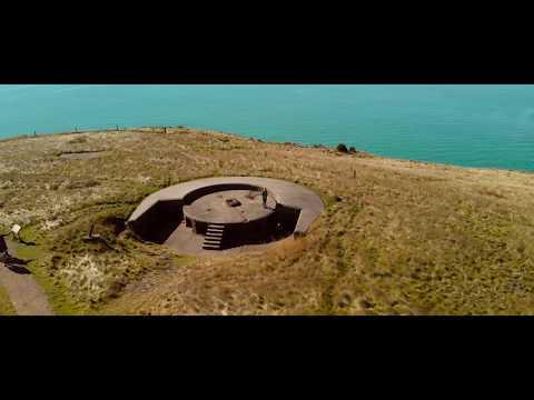 DJI MAVIC AIR - Coastal, War Remains. New Zealand