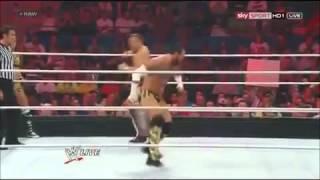 AJ Lee Kisses CM Punk, Raw, 6/11/12