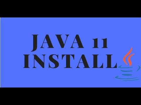 Java Tutorials - Java 11 installation