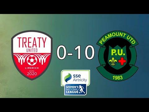 WNL GOALS GW23: Treaty United 0-10 Peamount United