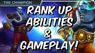 The Champion Rank Up, Abilities & Gameplay! - Marvel Contest Of Champions
