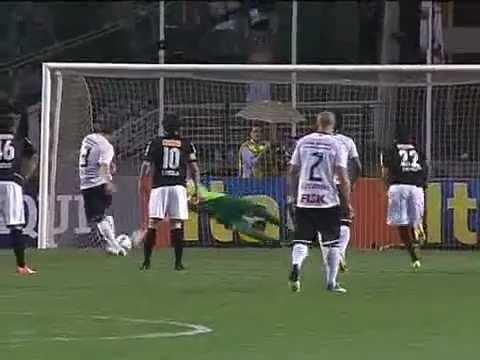 Os gols de Corinthians 5 x 1 Coritiba pelo Campeonato Brasileiro 2012 10/11/12