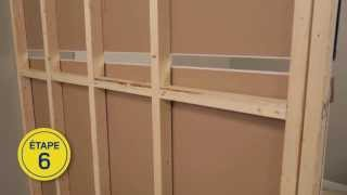 Repeat youtube video RONA - Comment construire un mur intérieur