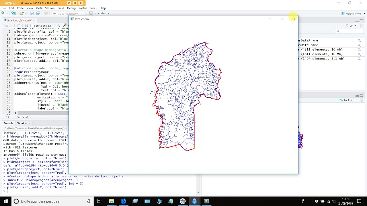 R Project - Trabalhando com shapefile (Working with shapefile)