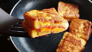 햄치즈 토스트 만들기 (계란 토스트 레시피)