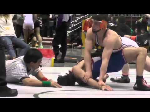 Wyoming High School State Wrestling Championships 2015 Higher Weight Classes - 2/28/15