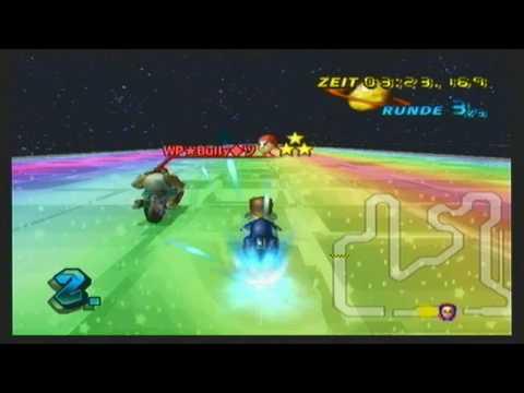 Mario Kart Wii - Custom Track with [WP]Bully (GBA Rainbow Road)