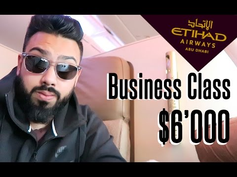 MY $6'000 BUSINESS CLASS EXPERIENCE !!!