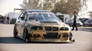 BMW M3 Loses Drivetrain & Front Lip Spoiler During Time Attack Thumbnail