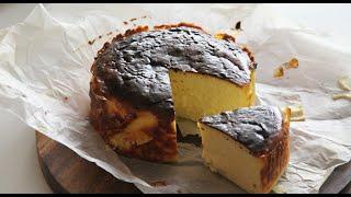 에어프라이어 바스크치즈케이크 만들기, 에어프라이어 베이…