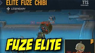 Rainbow Six Siege Fuze Elite Charm no mvp victory animation chibi