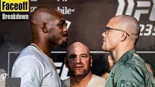 Body Language Analysis Jones vs Smith FACEOFF