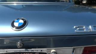 Classic 1973 BMW 3.0 CS Coupe in action