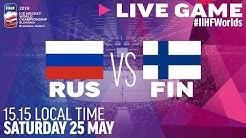 Russia-Finland | Semifinals | Full Game | 2019 IIHF Ice Hockey World Championship