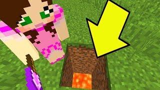 Minecraft: *NEVER* DIG STRAIGHT DOWN In Minecraft!!! - Custom Map