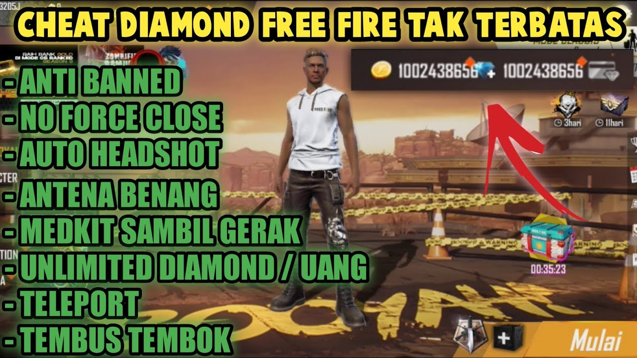 Cheat Diamond Free Fire Tak Terbatas Youtube