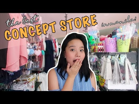 SHOPPING TAYO! BEST CONCEPT STORE IN MANILA!