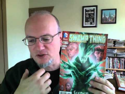 Comic Book Thoughts: A great week including: Earth 2, Trillium, Action, Swamp Thing and more
