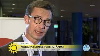 """Moderaternas partiledare Ulf Kristersson: """"Finns inga alternativ, det är hårdare tag som gäller"""" - N"""