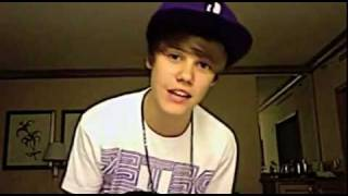 Justin Bieber - me and the boys saying thank u - TwitVid