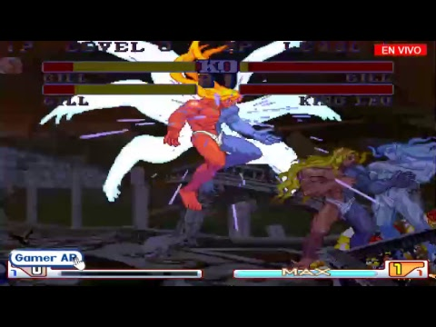gameplay street fighter 2 deluxe - gill - gill