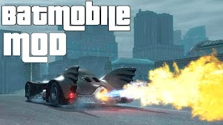 Grand Theft Auto IV - Batmobile [GTAIV Script MOD]