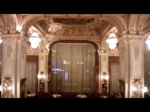 tour the 5 star Boscolo Hotel, formerly the New York Palace, Budapest