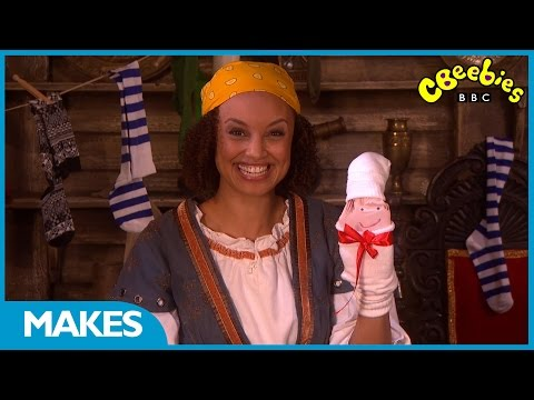 Swashbuckle - Sock Puppet Make - CBeebies