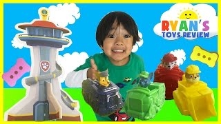 PAW PATROL TOYS Beach Rescue Play Mat Family Fun Game For Kids Ryan ToysReview