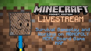 Minecraft Pocket Edition Livestream