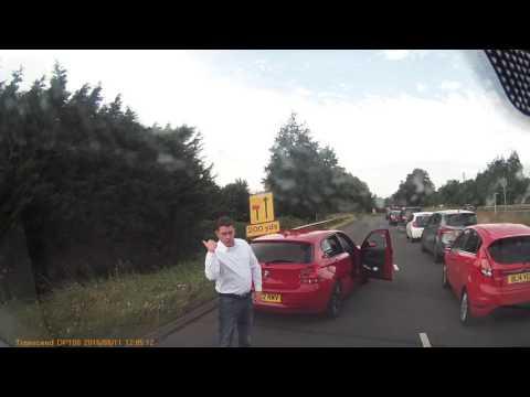 Road rage Northampton Mereway