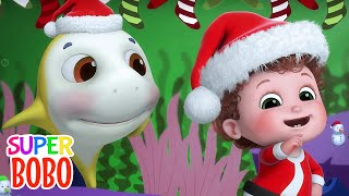 Deck the Halls   Christmas Song for Kids + More Nursery Rhymes & Kids Songs - Blue Fish 4K
