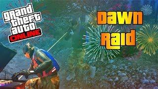 Grand Theft Auto V Online modo adversario ASALTO AL ALBA III parte 3